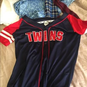 Minnesota twins jersey from pink!